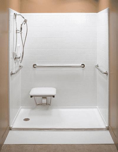 Safe & Accessible Walk In Showers | Senior Safe Solutions